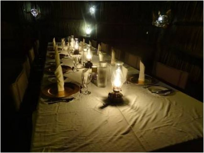 South African Dinner Table am 18. Juni 2016